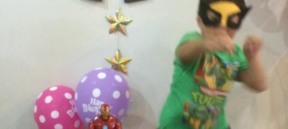 Birthday Action Hero