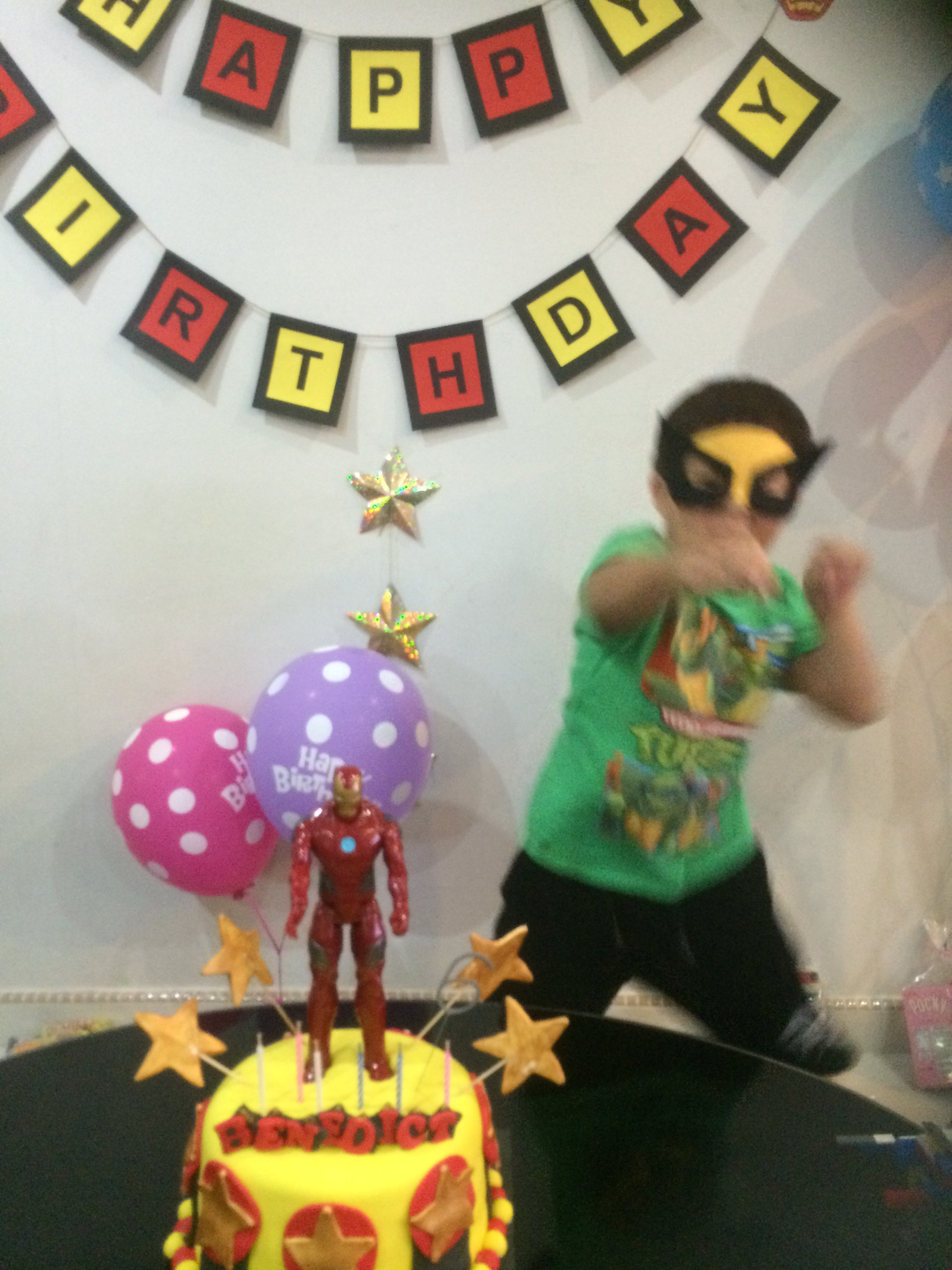 Birthday Action Hero