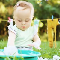 Effective Ways on Washing Baby Clothes with Stains